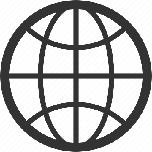 circular grid, earth grid, globe grid, internet grid, world grid icon