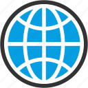 circular grid, earth, earth grid, global, globe grid, internet grid icon