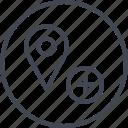 add, more, pin icon