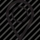 location, maps, navigation, pointer icon