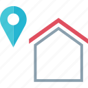 google, home, maps icon