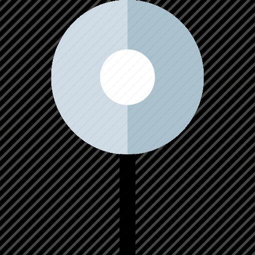 gps, pin, single icon