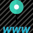online, pin, web, www
