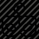 incognito, location icon