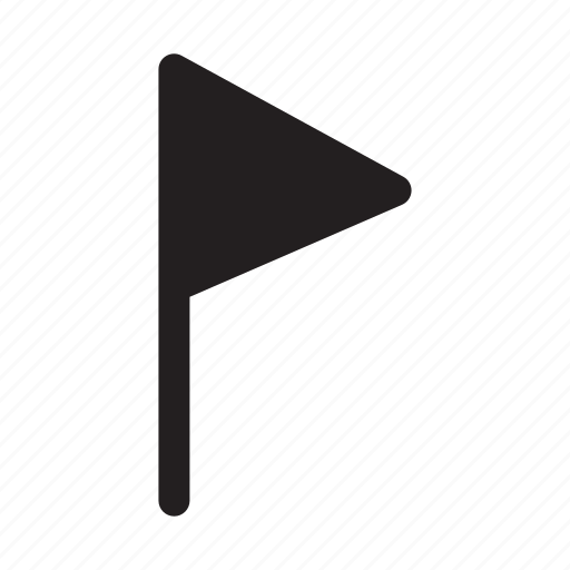 flag, location, map, marked, navigation icon