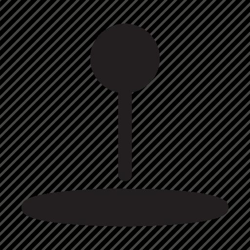 indicator, location, map, navigation, shadow icon