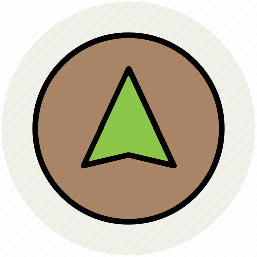arrow location, cartography, direction arrow, navigation, navigation arrow, topography icon