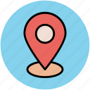 gps, location marker, location pin, location pointer, map pin, navigation icon