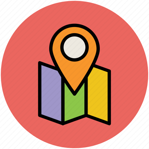 location pin, locator, map, map location, map pin, map pointer icon