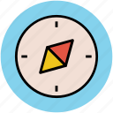 cardinal directions, cardinal points, compass, compass rose, navigation icon