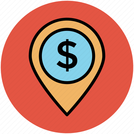 bank location, bank location pin, location marker, map locator, map pointer icon