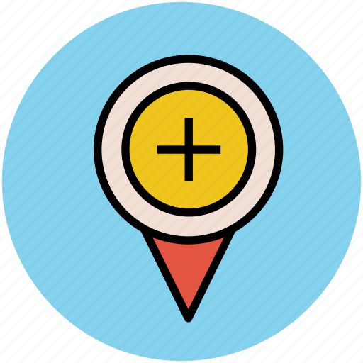 add location, add location to map, add place, gps, map pointer, navigator icon