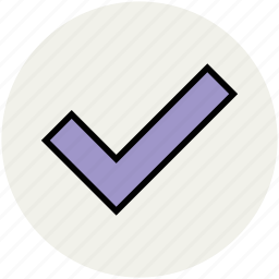 accepted, approved, authorized, checked, tick, verified icon