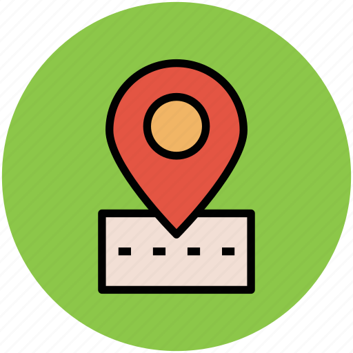 gps, location marker, location pin, location pointer, map pin, navigation, road location icon