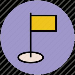 destination flag, ensign, flag, map marker flag, table flag icon