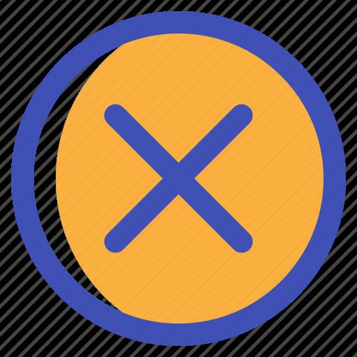 cancel, close, delete, interface, multimedia, ui icon
