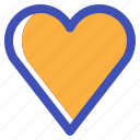 favorite, heart, interface, love, multimedia, romantic, ui