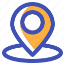 gps, location, map, multimedia, navigation, pin icon