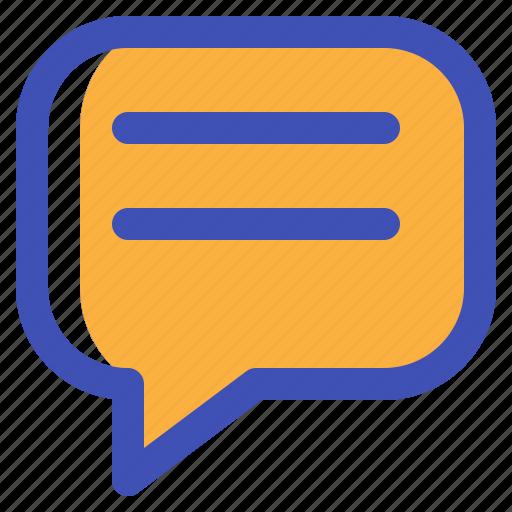 chat, comment, conversation, message, multimedia, ui icon