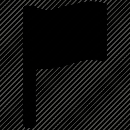 ensign, flag, location flag, map flag, plain flag icon