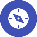 compass, direction, equipment, measure, navigate, point, tool icon