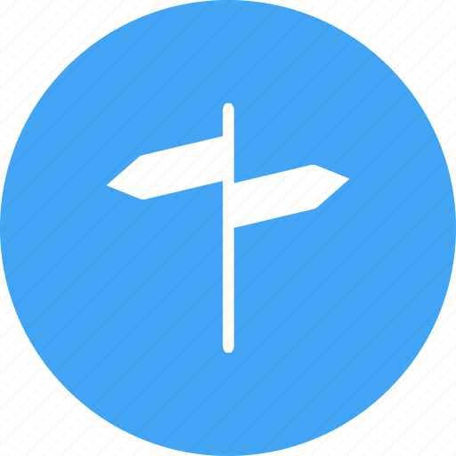 Arrow, guide, road, sign, street, traffic, way icon - Download on Iconfinder