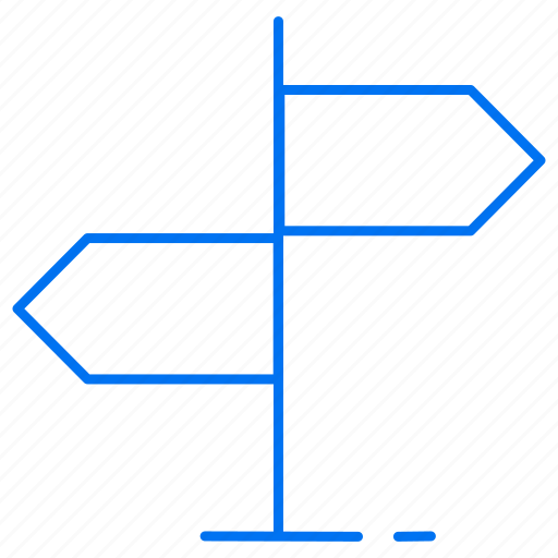 arrow, directions, left, right icon