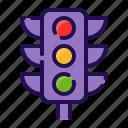 destination, gps, location, map, navigation, signal, traffic light