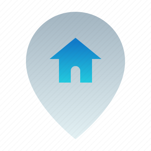 Destination, gps, home location, location, map, navigation, pin icon - Download on Iconfinder