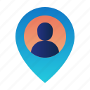 destination, gps, location, map, navigation, pin, user location
