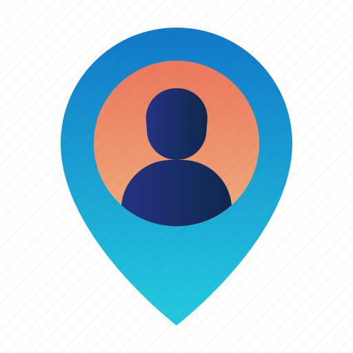 Destination, gps, location, map, navigation, pin, user location icon - Download on Iconfinder