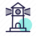 destination, gps, light house, location, map, navigation, tower icon