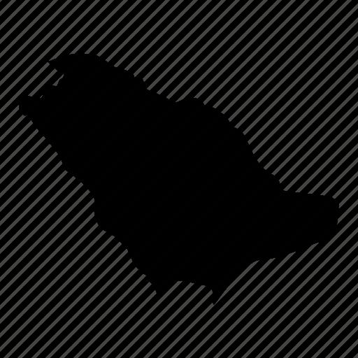 Location, map, map of saudi arabia, oil, saudi arabia icon - Download on Iconfinder