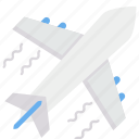 airplane, fly, tour, traveling icon