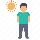 beach, summar, sun, vacation icon