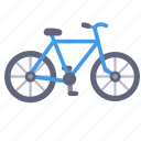 bicycle, traveling, trip, vacation icon