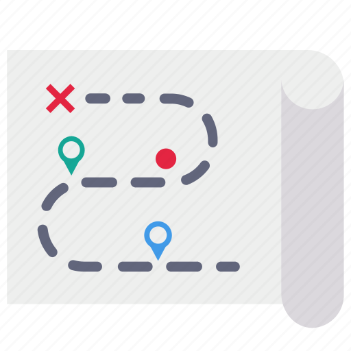 Direction, map, navigation, pin icon - Download on Iconfinder