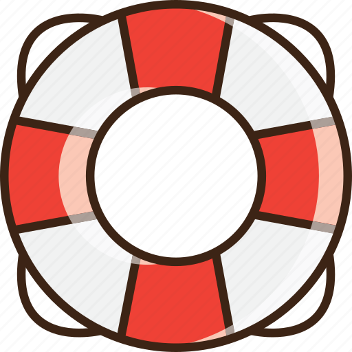 aid, help, lifebuoy, lifeline, lifesaver, summer, support icon