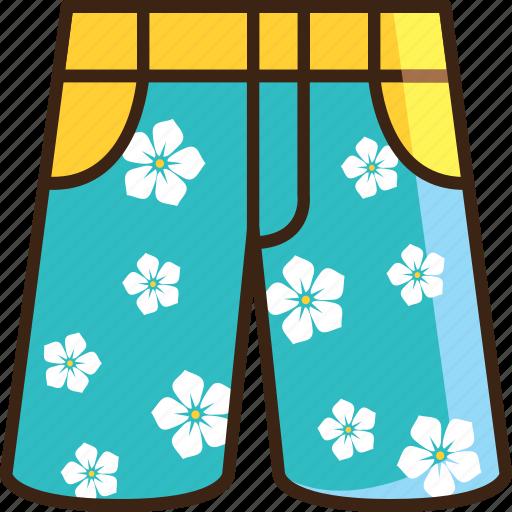 bermuda, clothes, pant, short, shorts, summer, travel icon