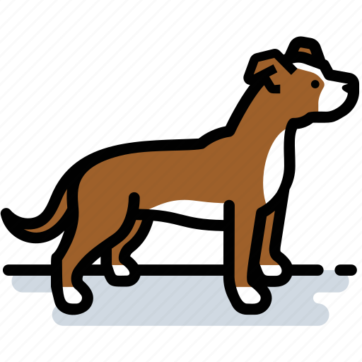 dog, pet, pit bull, pitbull, terrier icon
