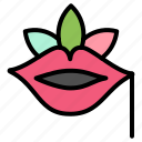 flower, lips, plant, rose, spring