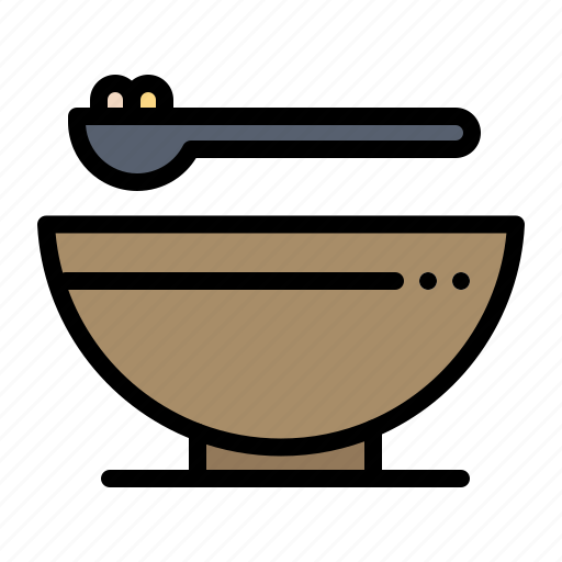 bowl, food, gras, kitchen, mardi icon