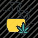 cannabis oil, marijuana, weed icon