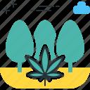 guerilla, marijuana, pot, weed icon