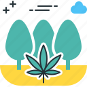 guerilla, marijuana, pot, weed