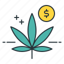 cannabis menu, cannabis prices, cannabis shop, leaf, marijuana menu, marijuana prices, marijuana shop icon