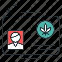cannabis, legal marijuana, marijuana, medical cannabis, medical cannabis card, medical marijuana, medical marijuana card icon