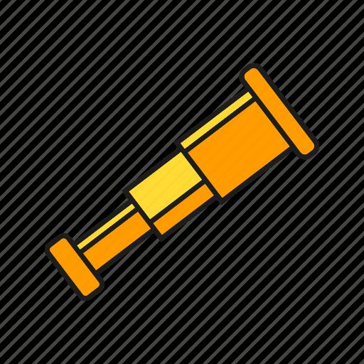 binocular, device, navigation, spyglass icon