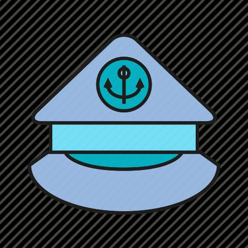boss, cap, captain, chief, hat, head, leader icon