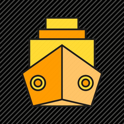 navigation, ship, transport, travel, vessel icon